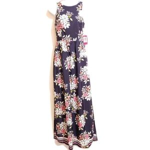 NWT Vince Camuto Floral Maxi Dress Size 2